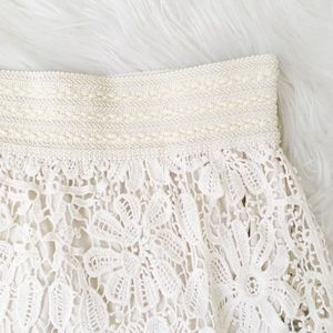 Forever 21 Skirts - crochet lace skirt